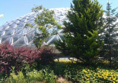 The biodome in Queen Elizabeth Park, Vancouver, Canada