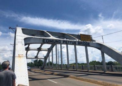 The Edmund Pettus Bridge in Selma, Alabama