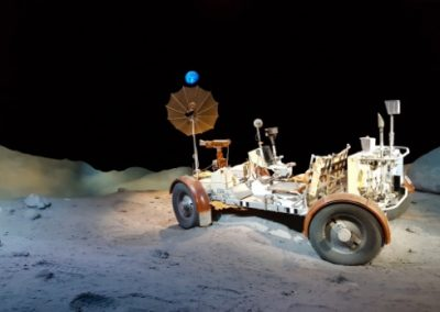 A model of the lunar rover